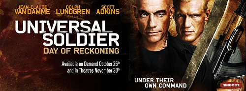 UNIVERSAL SOLDIER DAY OF RECKONING : Poster