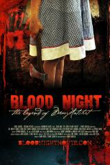 BLOOD NIGHT : LEGEND OF MARY HATCHET - Poster