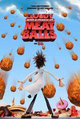CLOUDY WITH A CHANCE OF MEATBALLS - Poster