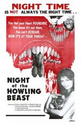 NIGHT OF THE HOWLING BEAST - Poster