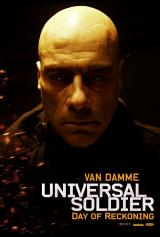 UNIVERSAL SOLDIER : DAY OF RECKONING - Van Damme Poster