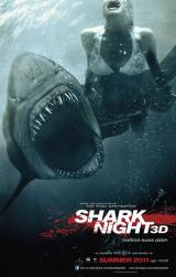 SHARK NIGHT 3D - Teaser Poster