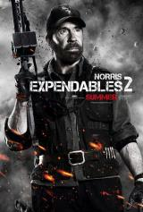 EXPENDABLES 2 - Norris Poster