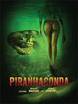 PIRANHACONDA - Poster
