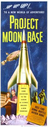 PROJECT MOON BASE - Poster