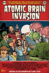 ATOMIC BRAIN INVASION - Poster