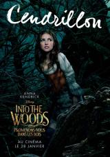 INTO THE WOODS  - Poster : Cendrillon