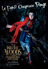 INTO THE WOODS  - Poster : Le petit chaperon rouge