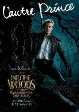 INTO THE WOODS  - Poster : L'autre prince