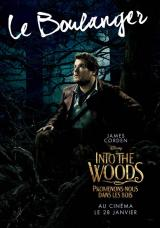 INTO THE WOODS  - Poster : Le boulanger
