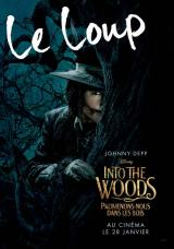 INTO THE WOODS  - Poster : Le loup