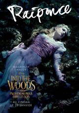 INTO THE WOODS  - Poster : Raiponce
