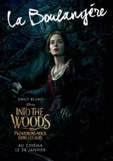 INTO THE WOODS  - Poster : La boulang�re