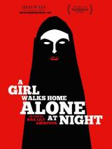 A GIRL WALKS HOME ALONE AT NIGHT - Poster