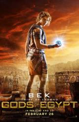 GODS OF EGYPT - Bek Poster