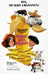 HERBIE GOES BANANAS - Poster