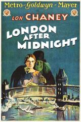 LONDON AFTER MIDNIGHT - Poster