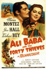 ALI BABA AND THE FORTY THIEVES - Poster
