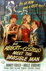 ABBOTT AND COSTELLO MEET THE INVISIBLE MAN - Poster