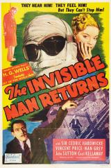 THE INVISIBLE MAN RETURNS - Poster