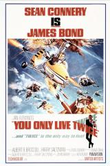 YOU ONLY LIVE TWICE - Poster
