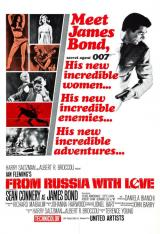 FROM RUSSIA WITH LOVE - Poster
