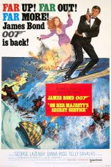 ON HER MAJESTY'S SECRET SERVICE - Poster