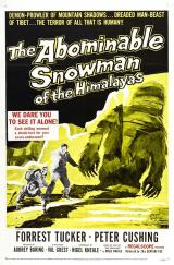 THE ABOMINABLE SNOWMAN - Poster