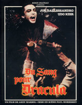 BLOOD FOR DRACULA Poster 1