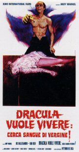 BLOOD FOR DRACULA Poster 4