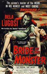 BRIDE OF THE MONSTER Poster 1