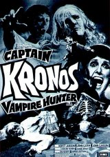CAPTAIN KRONOS : VAMPIRES HUNTER Poster 1