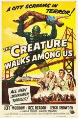 THE CREATURE WALKS AMONG US - Poster