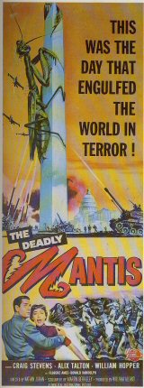 DEADLY MANTIS, THE Poster 1