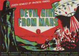 DEVIL GIRL FROM MARS Poster 1