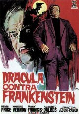DRACULA CONTRA FRANKENSTEIN Poster 1