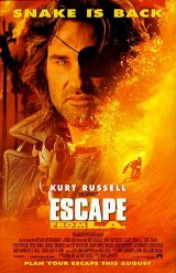 ESCAPE FROM L.A. Poster 2