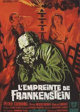 EVIL OF FRANKENSTEIN, THE Poster 1