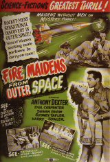 FIRE MAIDENS FROM OUTER SPACE Poster 1