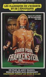 FLESH FOR FRANKENSTEIN Poster 1