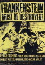 FRANKENSTEIN MUST BE DESTROYED Poster 2