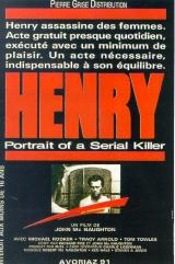 HENRY : PORTRAIT D'UN SERIAL KILLER - Poster