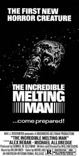 INCREDIBLE MELTING MAN, THE Poster 2