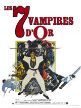 LES SEPT VAMPIRES D'OR - Poster