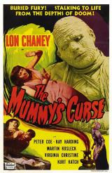 THE MUMMY'S CURSE - Poster
