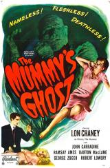 THE MUMMY'S GHOST - Re-release Poster