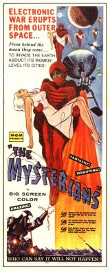 THE MYSTERIANS - Poster