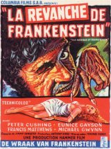 REVENGE OF FRANKENSTEIN, THE Poster 1