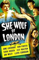SHE WOLF OF LONDON - Poster
