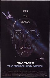 STAR TREK III : THE SEARCH FOR SPOCK Poster 2